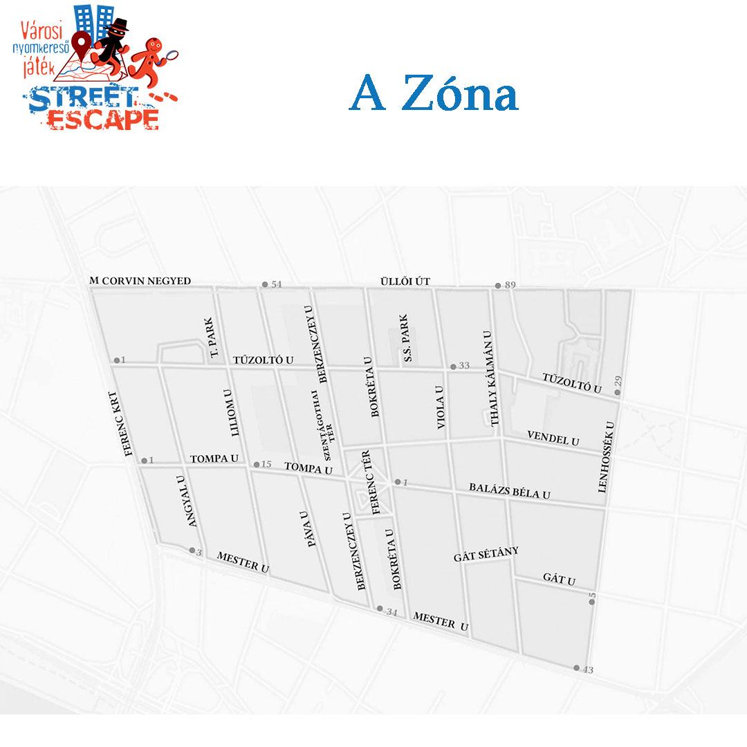 Városi nyomkereső játék - Első bevetés - Zóna 1 - A Vacsora