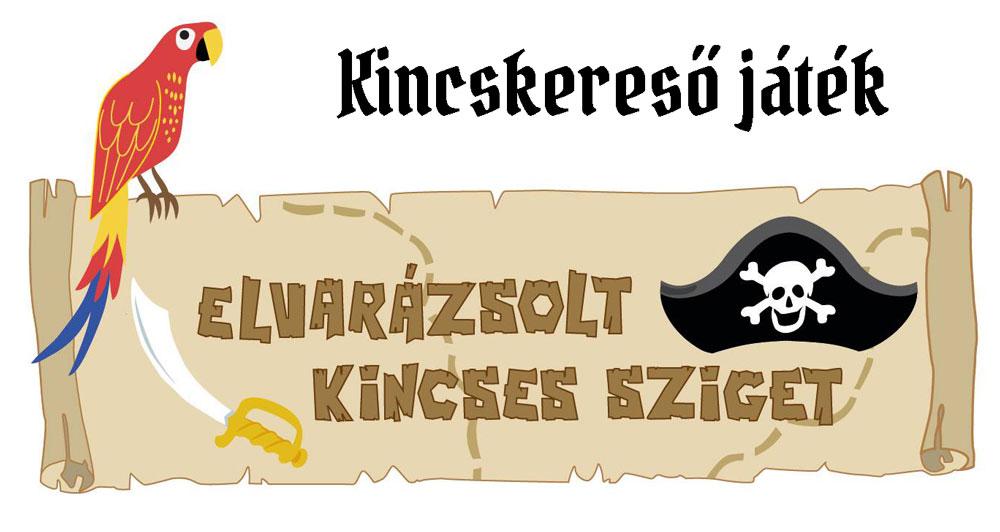 Szabadtéri kincskereső játék - Budapest Nemzeti színház szoborkert - Elvarázsolt kincses sziget