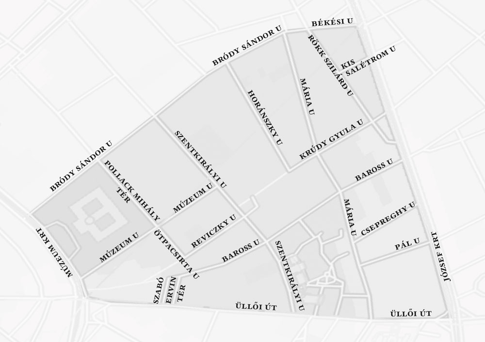 Street Escape városi nyomkereső Zóna 3 térkép Varázsital