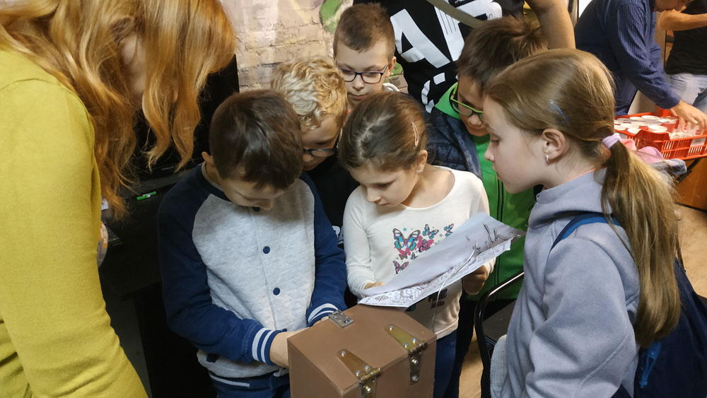 Kincskereső program Budapesten osztályok számára