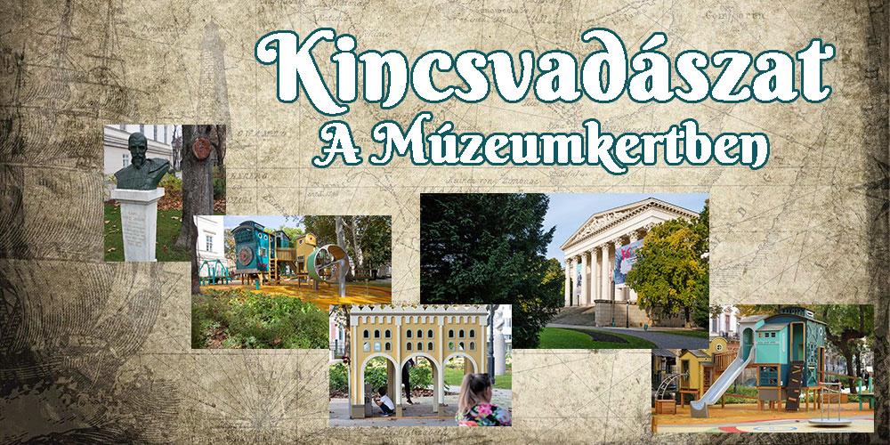 Kincsvadászat a Magyar Nemzeti Múzeum kertjében