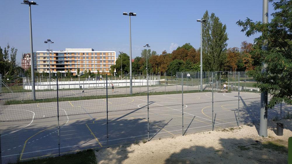 Családi sportolási lehetőségek az Orczy Parkban