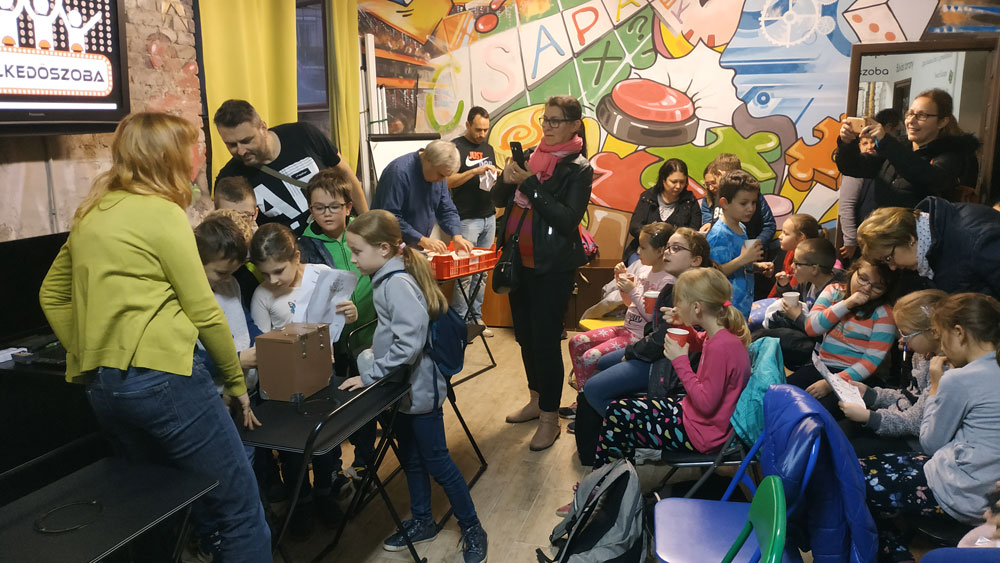 Budapesti szabadtéri program osztályok számára