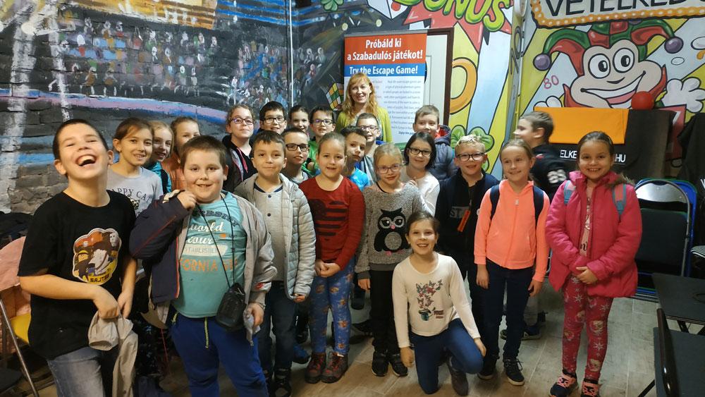 Osztálykirándulás Budapesten kincskereső játékkal