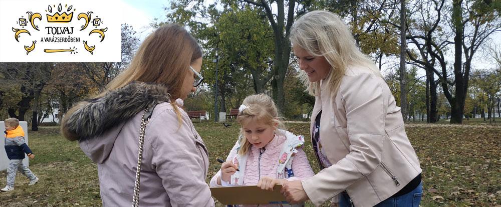Tolvaj a Varázserdőben - budapesti kincskereső játék az Orczy Parkban